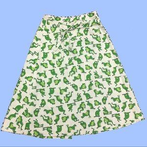 VINTAGE 70s Frog Skirt